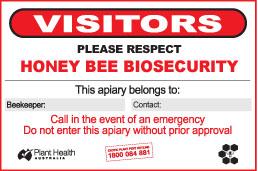 Farm Biosecurity sign 900x600mm
